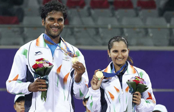 Asiad tennis: Saketh-Sania win mixed doubles gold, mens doubles duo get silver