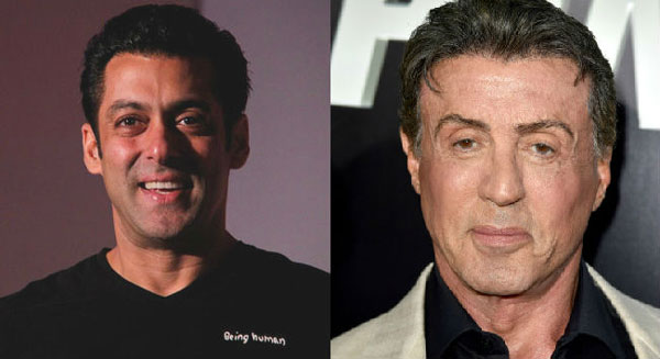Should do an action film together: Stallone tweets to Salman