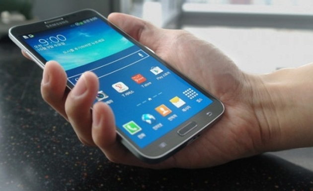 Samsung launches worlds first curved screen smartphone