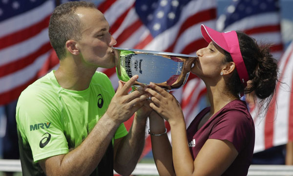 Sania-Bruno Soares clinch U.S. Open mixed doubles title