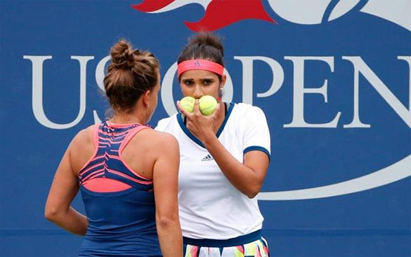 Sania knocked out of Wimbledon womens doubles