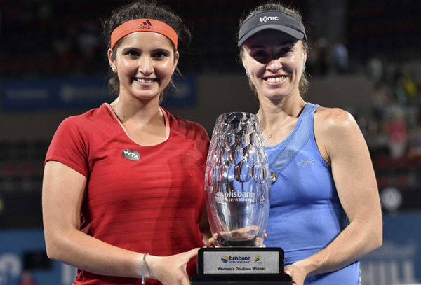 Sania-Martina start New Year with title in Brisbane