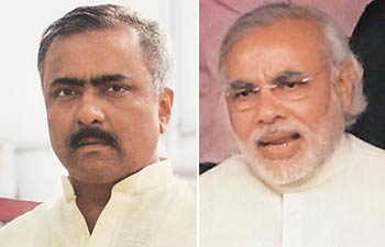 BJP internal rift escalates; Joshis posters come up in Ahbad