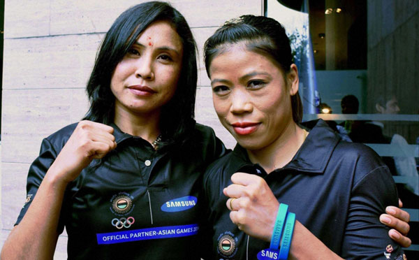 Olympics dream over for boxers Mary Kom, Sarita