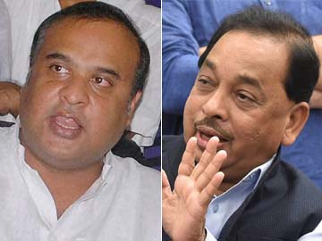 Troubles for Congress as Rane, Sarma quit as ministers