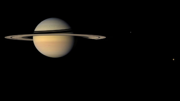 NASA finds most accurate position of Saturn, its moons