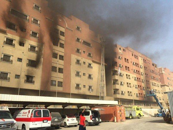 11 dead,dozens hurt in fire at Saudi oil giant housing complex