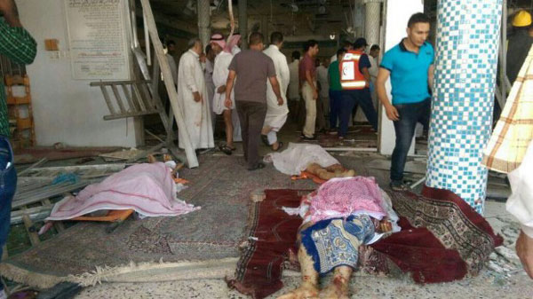 21 killed in blast at Saudi Shia mosque