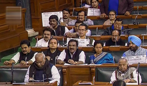 Budget discussion begins in LS amid din