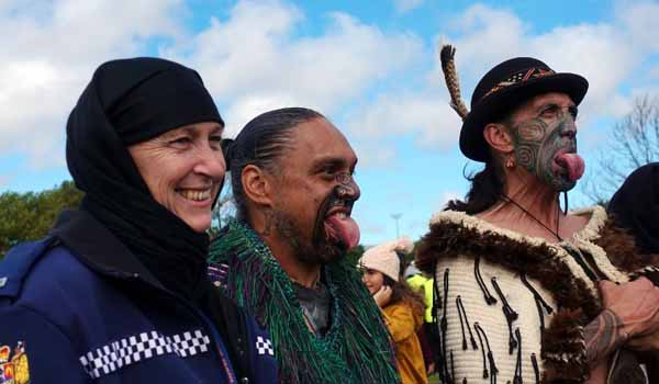 Kiwi women don headscarves in solidarity with Muslim victims