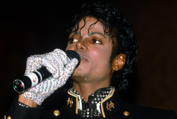 Michael Jacksons white glove up for auction