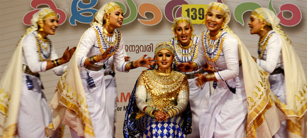 Kottayam, Palakkad take early lead at school arts fete