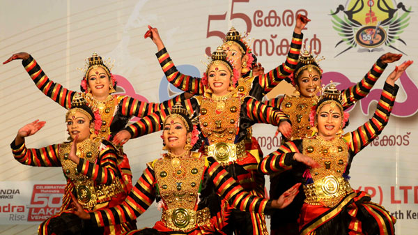 Palakkad leads the race at school arts fete