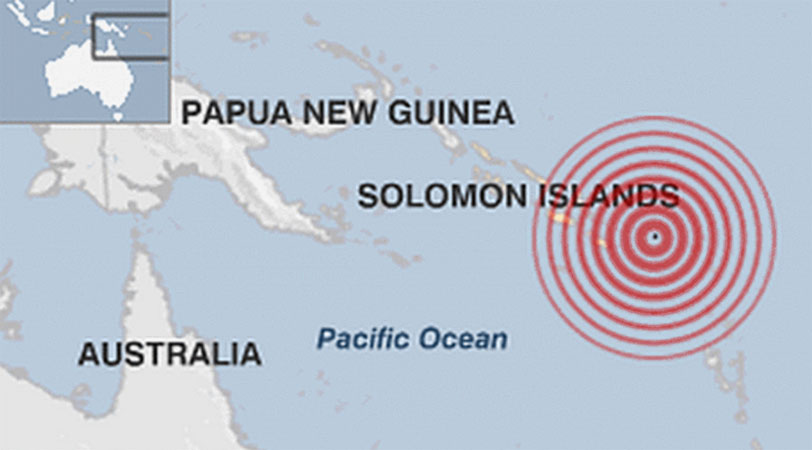 Solomon Islands quake: Tsunami warning cancelled