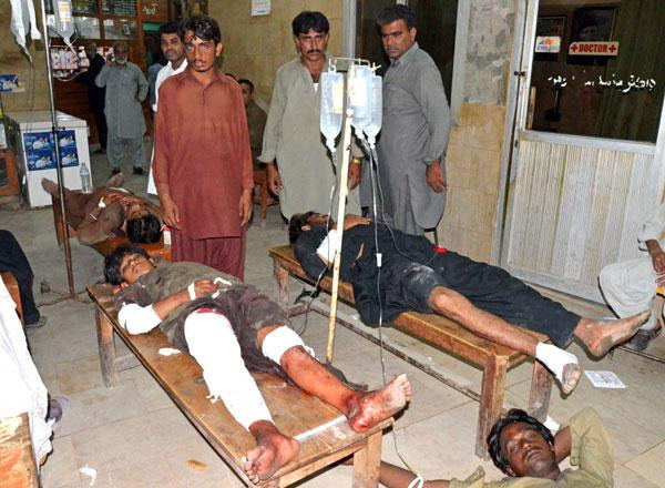 22 killed as suicide bomber hits Muharram procession in Pakistan