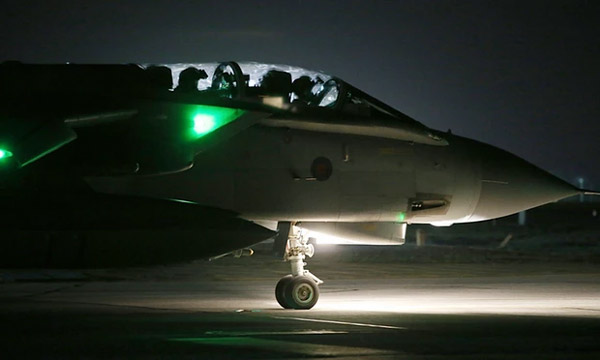 British bombers make first air strikes on Syria after UK parliament vote