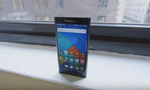BlackBerry launches first Android-based smartphone in India