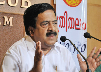 Chennithala writes to Sonia, says surgery needed for Cong's revival in state