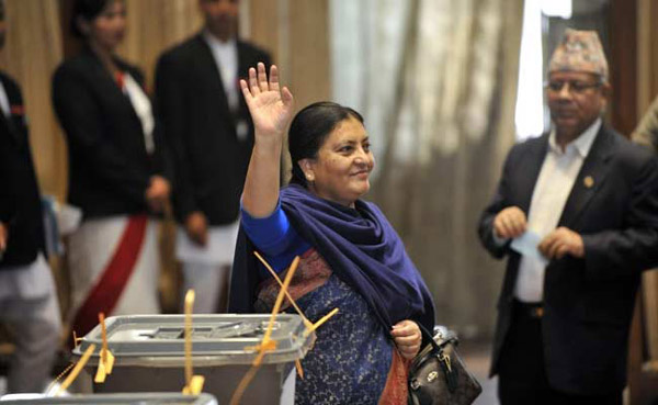 Nepal elects first woman president