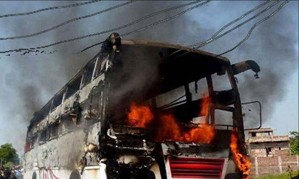 25 electrocuted after live wire falls on bus in Rajasthan