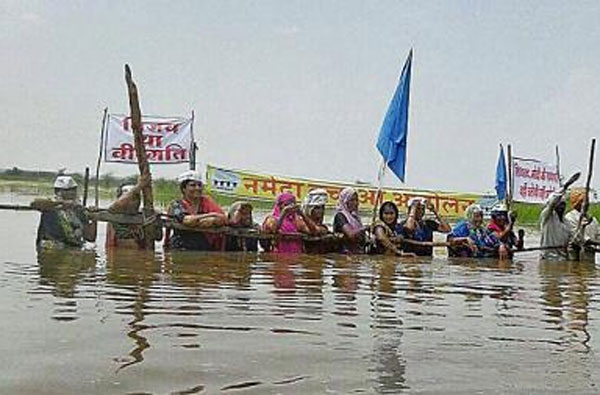 Madhya Pradesh water protest continues for 11th day