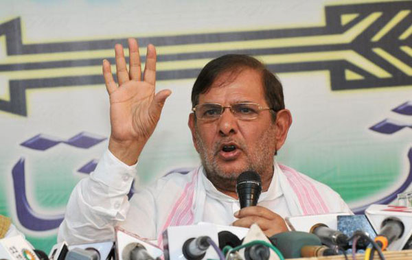 JD(U) chief Sharad Yadav attends SPs convention, fuels speculation about joining hands with party