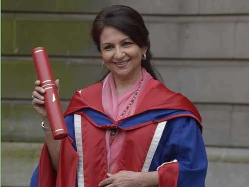 Sharmila Tagore gets honorary doctorate