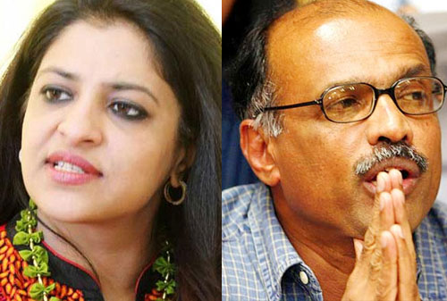 Shazia Ilmi, Gopinath quit AAP, hit out at Kejriwal