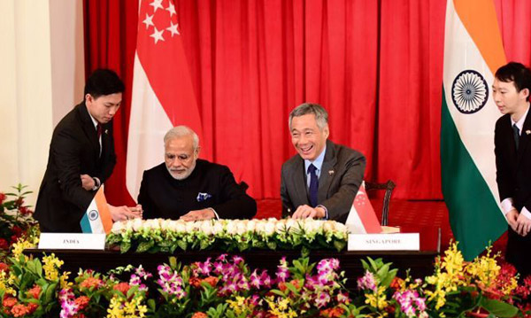 India, Singapore sign joint declaration on strategic partnership