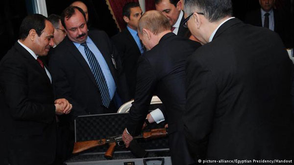 Sisi, Putin agree to build n-power plant in Egypt