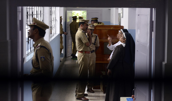 Another nun previously attacked at the same convent, says police