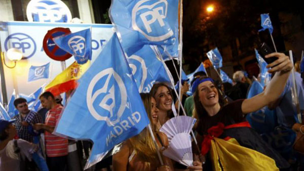 Spanish ruling party claims victory in general elections
