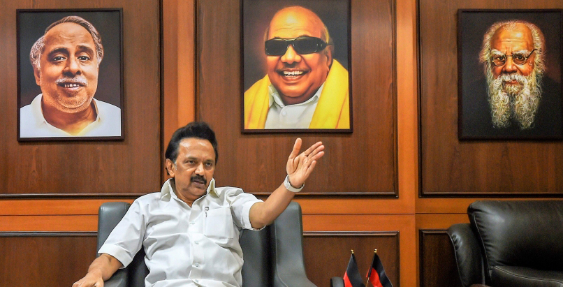 DMK: Centre dropping Hindi norm shows Kalaignar is living