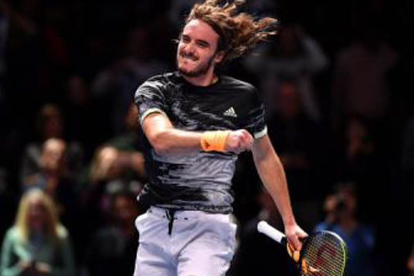 Tsitsipas is youngest ATP Finals winner in 18 years