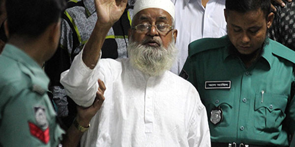 Jama'at leader sentenced to death in Bdesh for war crimes