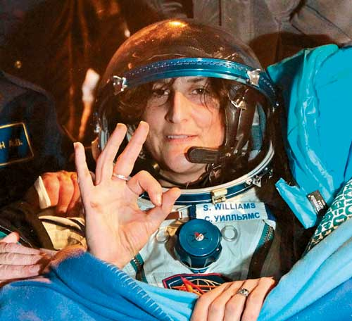 Warm reception awaits as Sunita Williams heads for Houston