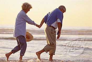 Secrets for happy and healthy old age