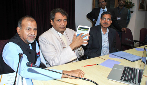 Railways launches Indias first customer complaint mobile app
