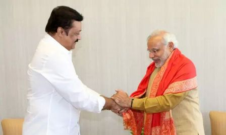 Excited to be invited to Modis swearing-in: Suresh Gopi