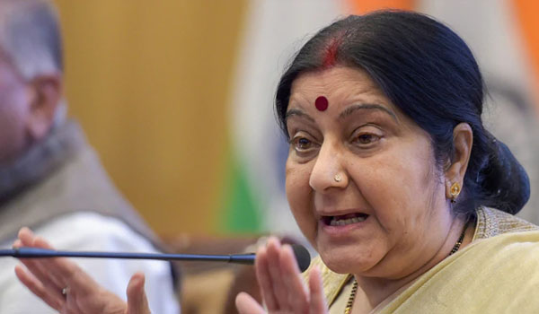 Swaraj to attend SCO foreign ministers meet in Bishkek from Tuesday