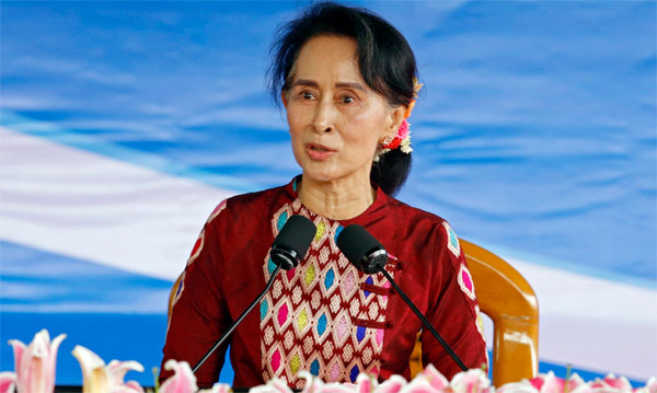 Suu Kyi stripped of Oxford honour over Rohingya criticism