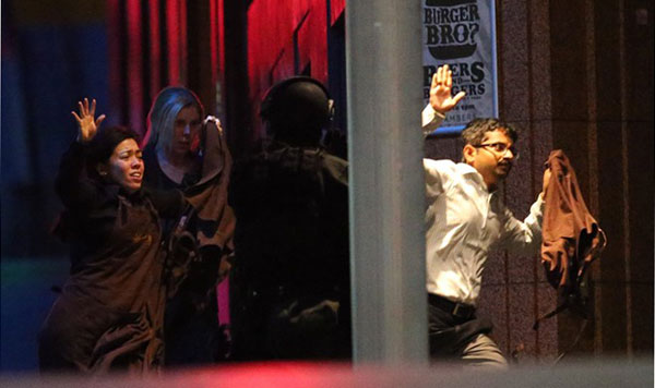 Gunman, 2 hostages killed as cops storm Sydney cafe to end 16-hour siege