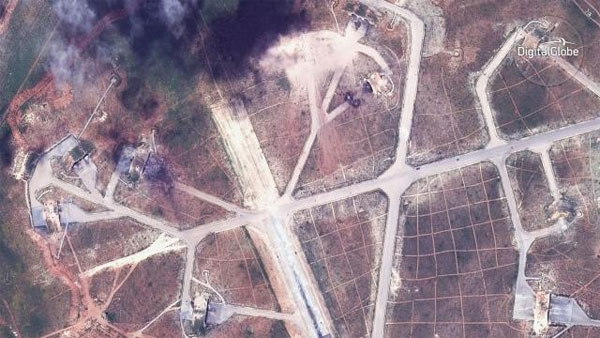 US vows to keep up pressure on Syria after missile strikes