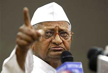 Anna Hazare plans fresh agitation against corruption