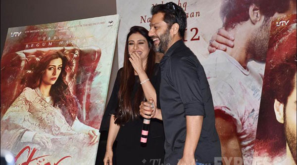 Tabu is a director's dream, says Abhishek Kapoor