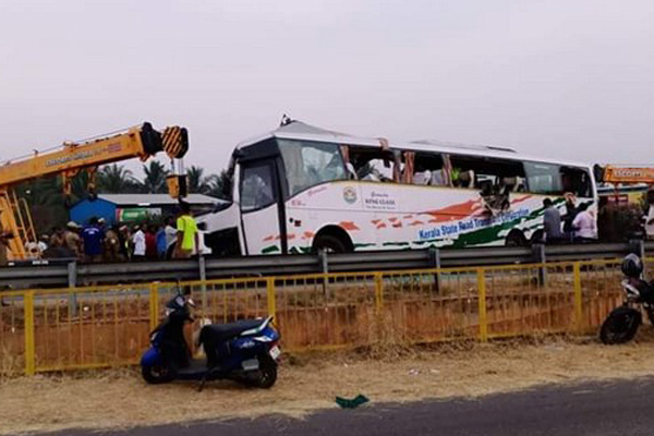 19 dead in TN road accident as Kerala's KRTC bus hits truck