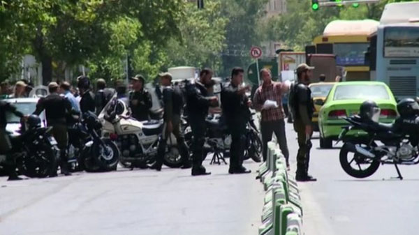 Islamic State claims attacks in Tehran