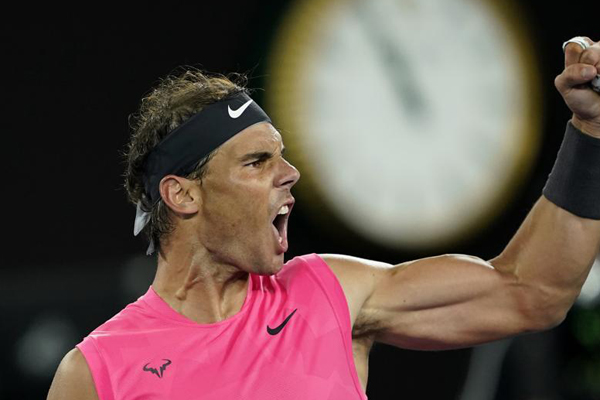 Nadal weathers Kyrgios storm to make Australian Open quarters