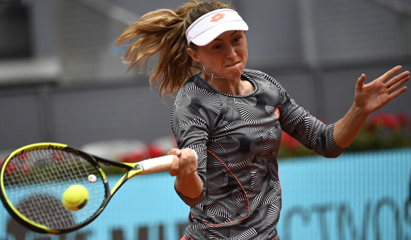 Big three into Madrid last-eight as Osaka and Kvitova crash out