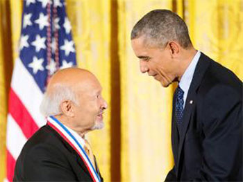 Obama awards national science medal to Indian American scientist
